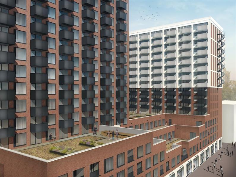 375 woningen De Cobana te Rotterdam