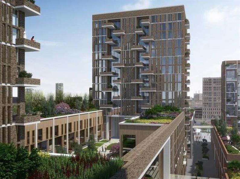 450 woningen De Groene Kaap te Rotterdam